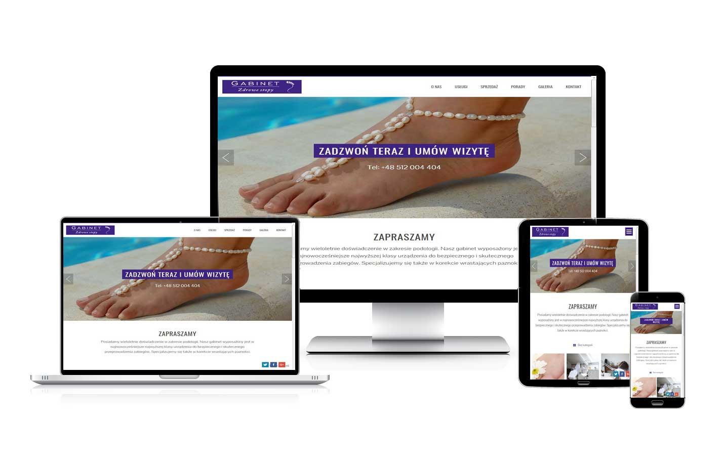 Strona internetowa wizytówka dla firm usługowych