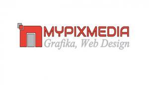 mypixmedia, logo, projekty, dla firm, grafika komputerowa, freelancer, identyfikacja wizualna, nowoczesne strony internetowe